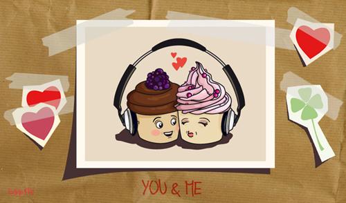 Sweet Love Illustration