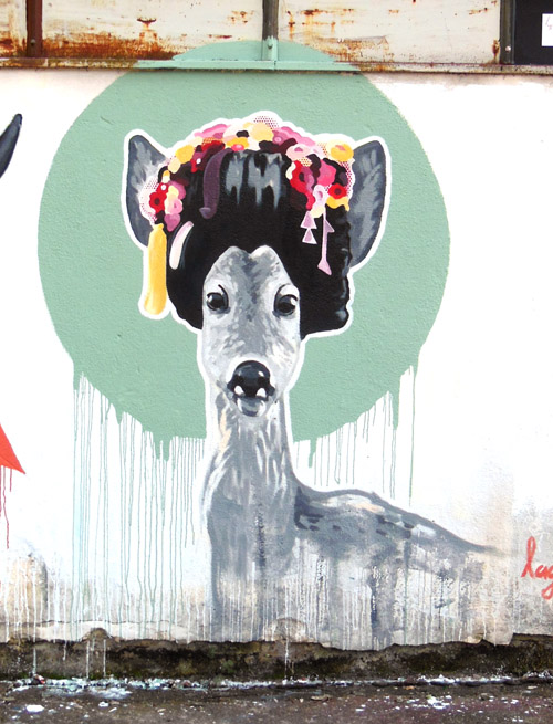 Ai Li IBUg 2013 Wandgemälde