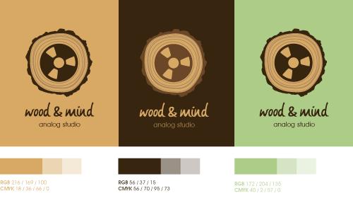 wood and mind Logo