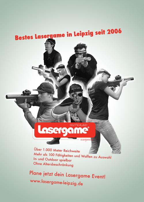 lasergame port01 Anzeige Grafikdesign