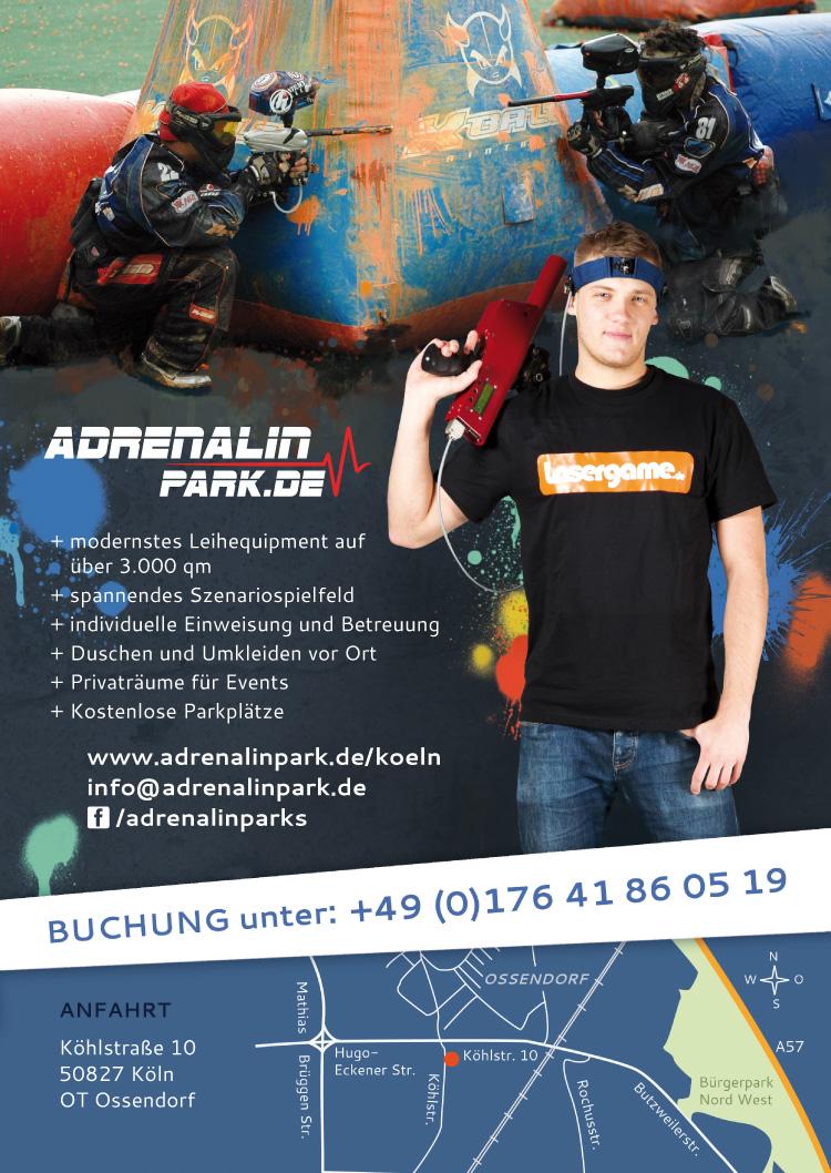Adrenalinpark Poster Grafik