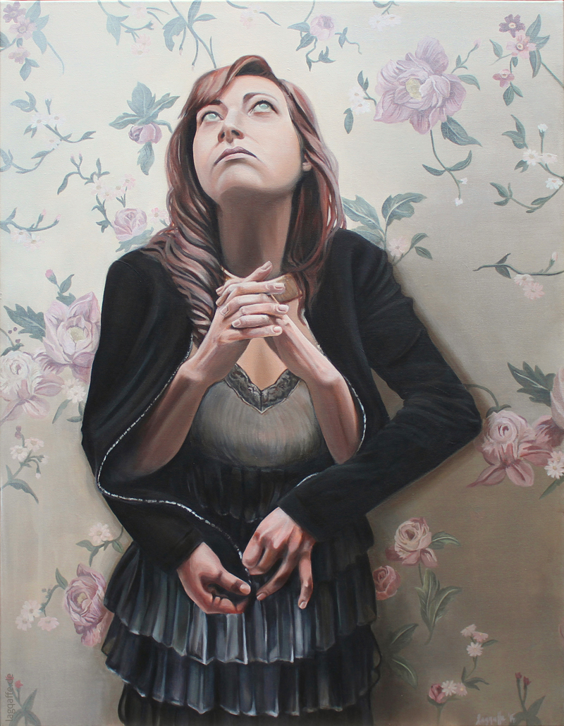 Das Gebet/die Hoffnung Gemälde