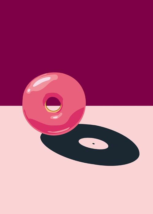 Sweetz and Beatz Donut