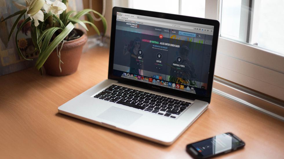 adrenalinpark webdesign