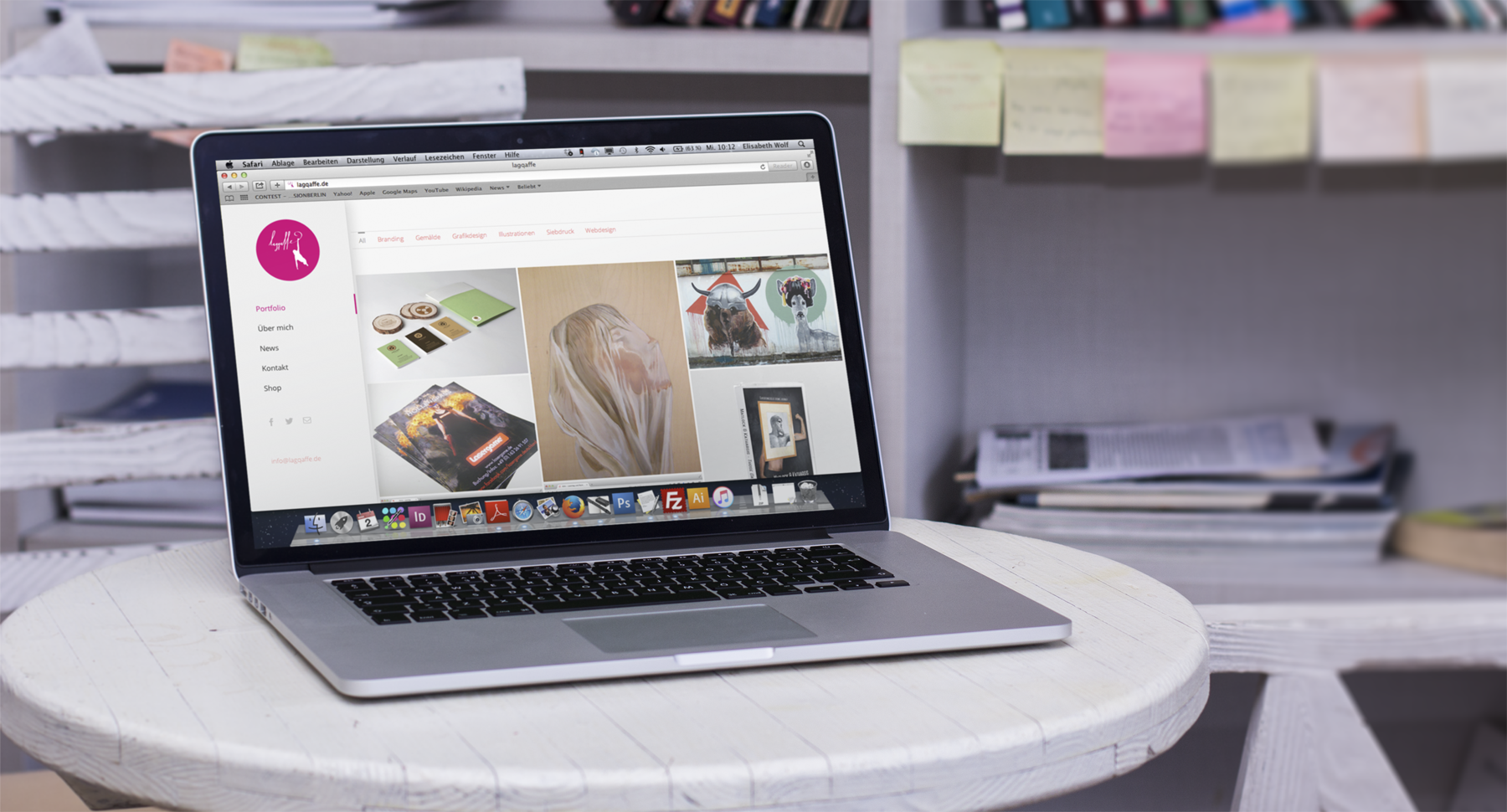 lagqaffe Webdesign