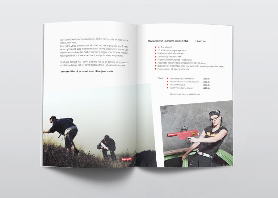 lasergame Danmark Folder