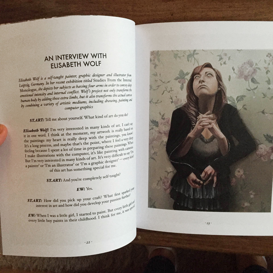 St. Art Magazin Interview