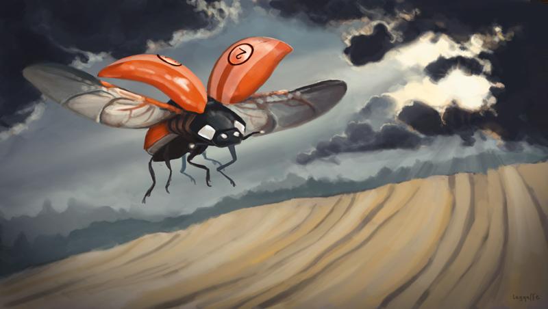 Racer, Illustration