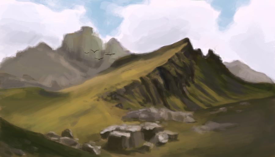 mountain berg
