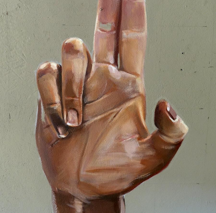 Hand Gun Detail
